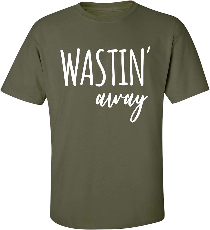 zerogravitee Wastin Away Adult Short Sleeve T-Shirt