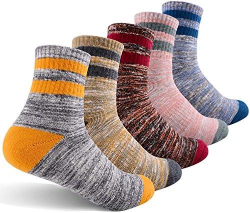 Women s Hiking Walking Socks FEIDEER Multi pack Outdoor Recreation Socks Wicking Cushion Crew product image