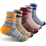 Women's Hiking Walking Socks, FEIDEER Multi-pack...