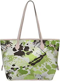 InterestPrint Tote Bag for Women School Work Travel and Shopping