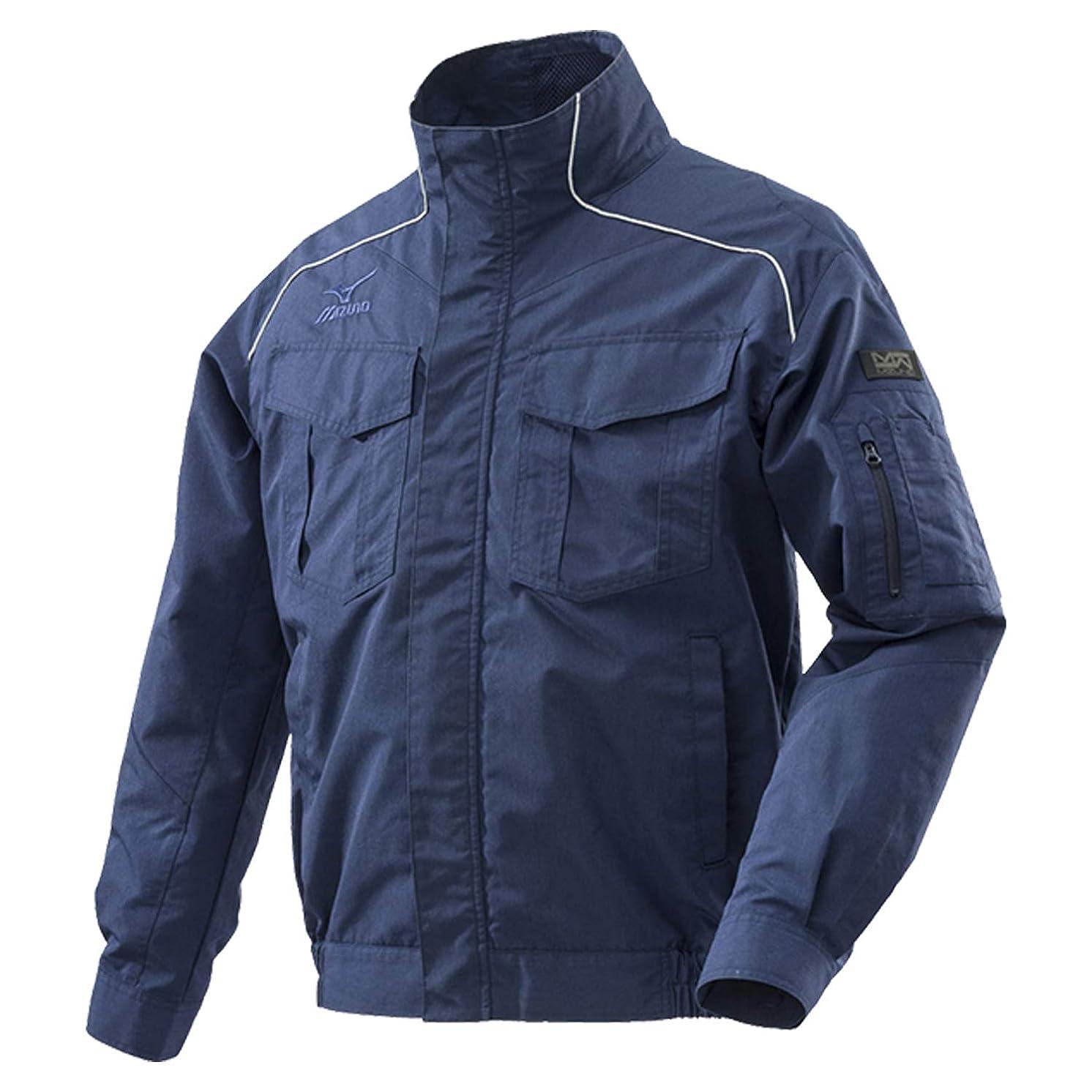 失効を通してスポーツをするミズノ(MIZUNO) 空調服用ジャケット エアリージャケット (ジャケットのみ) C2JE818014 ネイビー XL