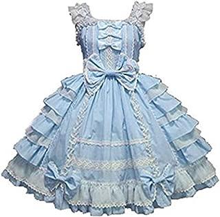 Girls Sweet Lolita Dress Princess Lace Court Skirts Cosplay Costumes