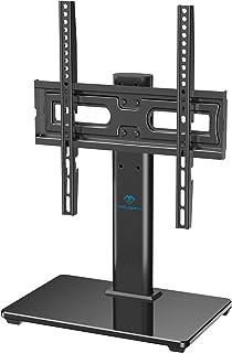 Pied TV Universel Support TV pour Téléviseur de 32 à 55 Pouces - Support de Montage TV Réglable en Hauteur avec la Base en...