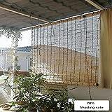 XZRR Tenda di bambù - Veneziane da Interno su Misura 70%,Retro, Naturale, per La Schermata della Privacy Interna,persiane di Sollevamento della Decorazione del Soffitto -Tenda Bamboo