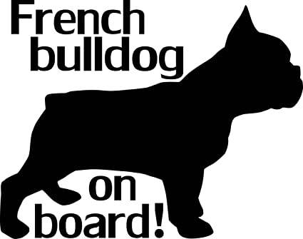 French Bulldog decal vinyl Decal for home cars walls cups bumper stickers glass