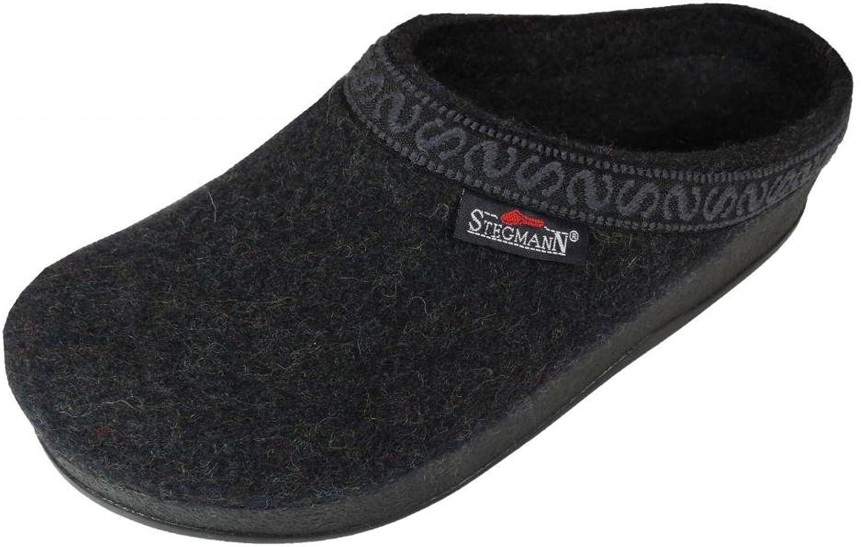 Stegmann Women's Wool-Flex Clog L108p Graphite Black