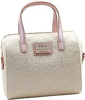x Disney Princess Damask Debossed Duffel Handbag
