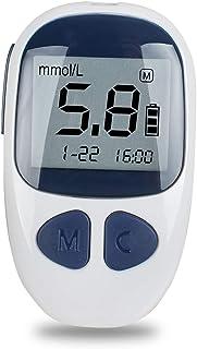 WCCCY Medidor de glucosa en Sangre, Medidor de glucosa en Sangre electrónica Monitor de Mano Digital Tester Diabetes glucemia