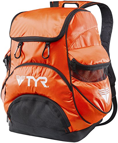 TYR Alliance Team II Backpack , Black/White