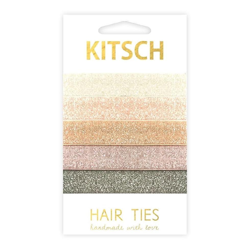 Kitsch 5 Piece Premium Hair Ties Set, Prima Ballerina