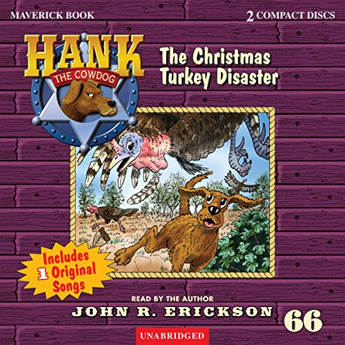 The Christmas Turkey Disaster audiobook cover art