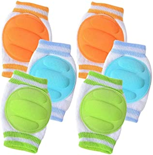 Style/_5/_3 Lovinglove 5 Pair Infant Toddler Baby Crawling Anti-Slip Kneepad Crawling Safety Protector Leg Warmers