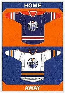 2015-16 Panini Stickers #318 Oilers Home/Away Jerseys Edmonton Oilers