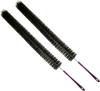 31 Inch Cleaning Brush for Dryer Lint Or Refrigerator Coil Cleaning : (Pack of 2 Pc.) (Tool Essentials: LHEN-FB3-Z02)