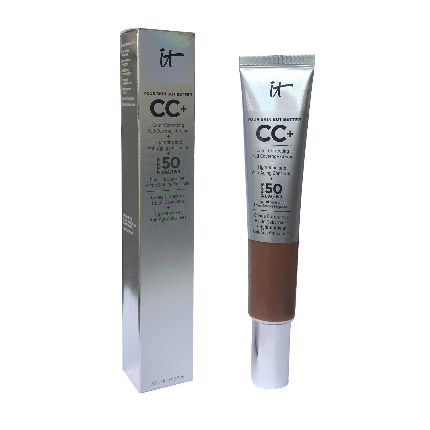 Your Skin But Better CC+ Sales Cream SEAL limited product Size 2.53 Value Rich Honey