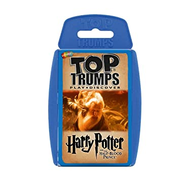 Harry Potter & The Half Blood Prince Top Trumps Card Game