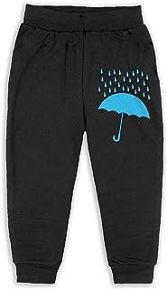 Easionerol Blue Rain Jumper Girls Long Sweatpants Jogger Trousers