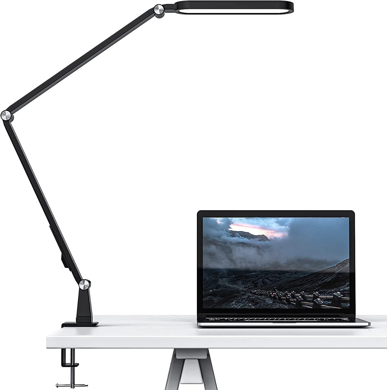 LED Desk Lamp JKSWT Max 88% OFF Eye-Caring 55% OFF Swing wi Adjustable Arm