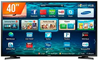 "Smart Tv Samsung 40"" LED - Full Hd - 2X HDMI - USB - Wi-Fi - LH40BENELGA/ZD"