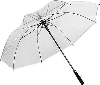 leanking 透明傘 長傘 大型 雨傘 おしゃれ ファッション メンズ レディース 梅雨対策 強風豪雨対策 撥水 丈夫 耐風 軽量 ワンタッチ 風に強い 通勤 通学 ビジネス 傘 大きい ジャンプ傘
