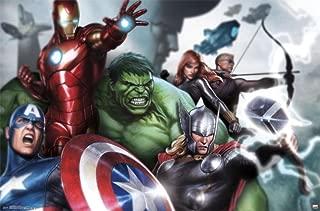 Trends International Avengers Assemble Wall Poster 22.375