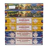 Satya Natural, Sandalwood & Nag Champa Incense Sticks...