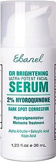 Hydroquinone 2% Dark Spot Corrector Remover Serum for Face,Melasma Treatment, Anti Aging Serum with Vitamin C, improve Lig...