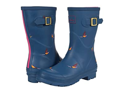 Joules Molly Welly (Teal Pheasant) Women