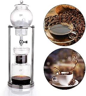 FECHO 耐熱ガラス アイスコーヒー メーカー ウォータードリッパー 水出し ウォータードリップ サイフォン 600ml-1000ml 6-8人用