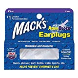 Mack's AquaBlock Earplugs 2 pair,Pack of 3