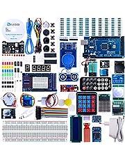 ELEGOO Arduino用のMega2560スタータキット最終版 初心者向け、チュートリアル付、MEGA 2560ボード, LCD1602