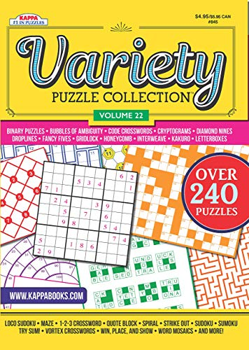 Variety Puzzles and Games Puzzle Book-Volume 22
