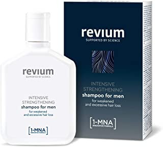 REVIUM INTENSIVE ANTI-HAIR LOSS SHAMPOO FOR MEN WITH 1-MNA MOLECULE AND H-VIT COMPLEX FOR WEAK EXCESSIVELY FALLING OUT HA...