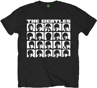 The Beatles ビートルズ A Hard Days Night Mono ハード・デイズ・ナイト・モノ 公式 メンズ ブラック 黒 Tシャツ Size