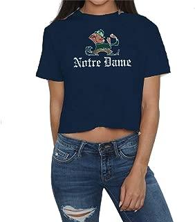 Elite Fan Shop NCAA Women's Crop Tshirt