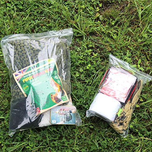 Bushcraft BCB Snapseal Bags - Transparent, 10 Pack