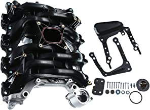A-Premium Upper Intake Manifold with Thermostat & Gaskets for Ford Crown Victoria 2001-2011 Explorer Mustang Lincoln Town Car Mercury Grand Marquis Mountaineer V8 4.6L 615-175