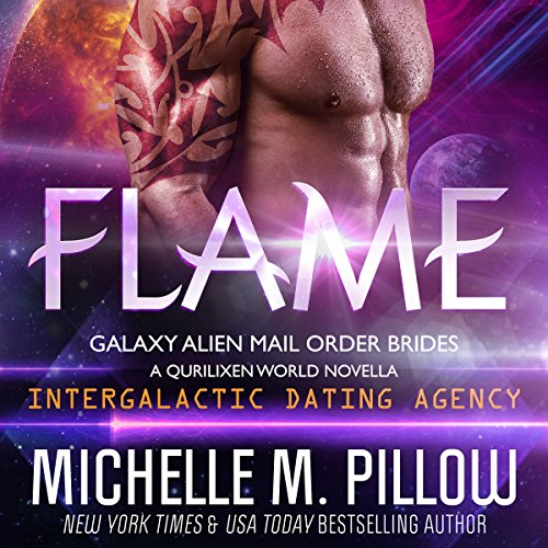 Couverture de Flame: A Qurilixen World Novella: Intergalactic Dating Agency