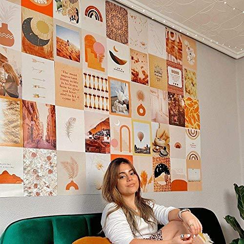 Flamingueo Fotos Pared Decoracion - 50 Fotos Decoracion Habitacion Aesthetic, Decoracion Paredes Dormitorio, Decoracion Habitacion Juvenil, Vinilos Pared, Posters para Pared (Boho)