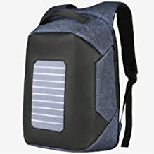 ZGSP Solar Backpack, Solar Hiking Backpack, Backpack with Integrated Solar Charger (20 inches)