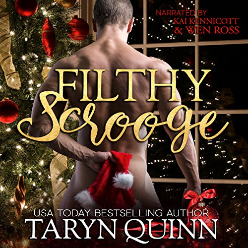 Filthy Scrooge audiobook cover art