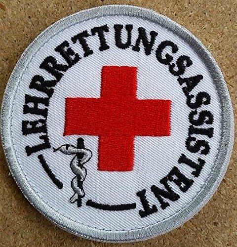 DRK Lehr Rettungsassistent Emblem - Patch - DRK Funktionsabzeichen MIH-Medical