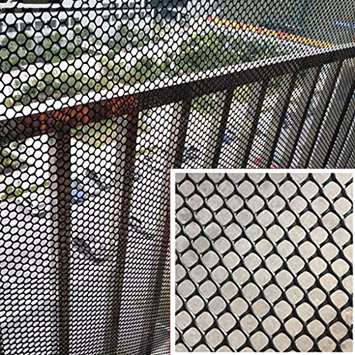 BBGS Plastic Mesh Fencing 1.8cm Mesh Ideal as Garden Fencing, Trellis Support, Construction Site Fencing or Poultry Run Fencing (Color : Style 2, Size : 3m)