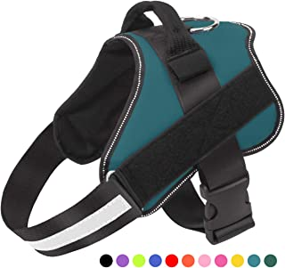 Bolux Dog Harness, No-Pull Reflective Breathable Adjustable Pet Vest with Handle for..