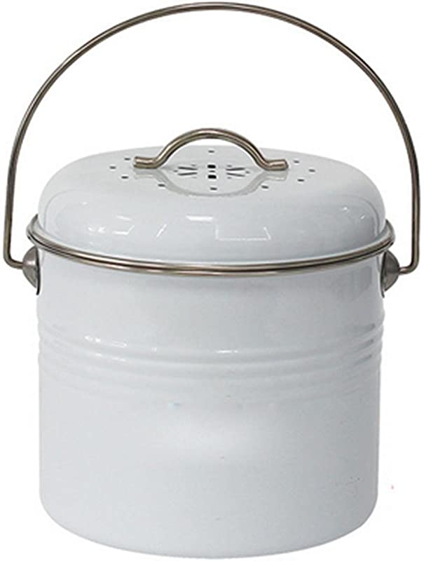 OOFYHOME Creative Cakes Barrels Creative Kitchen Spare Bucket With Plastic Barrels Round Trash Cans Storage Of Debris Dishes