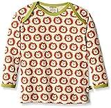 loud + proud Baby-Unisex 275 Sweatshirt, Rot (Sunrise su), 80 (Herstellergröße: 74/80)