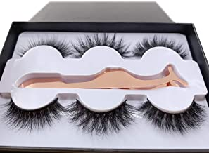 100 mink fur eyelashes