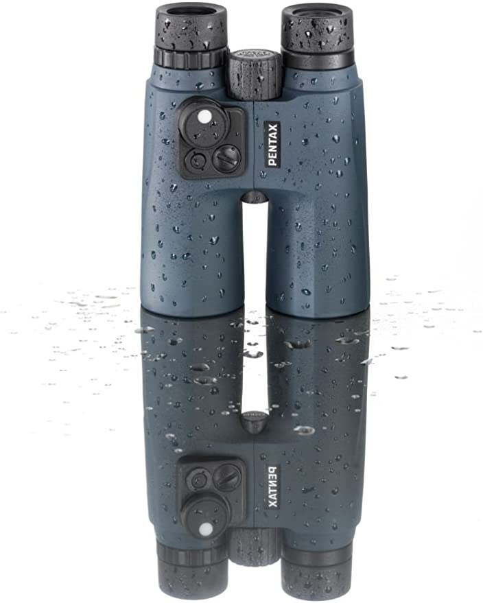 Pentax Marine Fernglas 7x50 Mit Kompass Orange Kamera