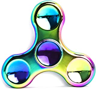 MAGTIMES Rainbow Anti-Anxiety Fidget Spinner [Metal Fidget Spinner] Figit Hand Toy for Relieving Boredom ADHD, Anxiety