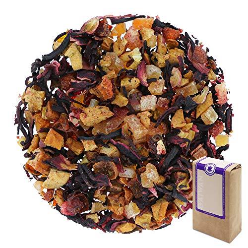 N° 1385: Tè alla frutta in foglie 'Luna Rossa' - 1 kg - GAIWAN® GERMANY - tè in foglie, mela, papaya, ibisco, rosa canina, fragola, mora, 1000 g